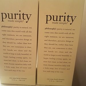 Philosophy Purity Made Simple